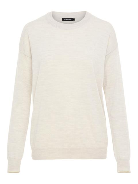 Womens Kerli Perfect Merino Sweater Off White