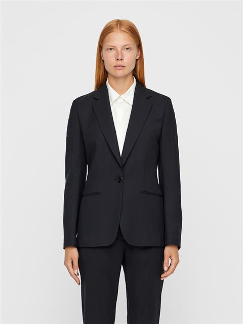 Womens Fern Wool Cordura Blazer Black