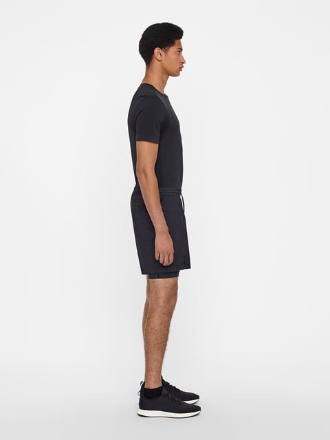 Mens Daz Stretch WindPro Shorts Black
