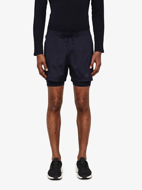Mens Daz Stretch WindPro Shorts JL Navy