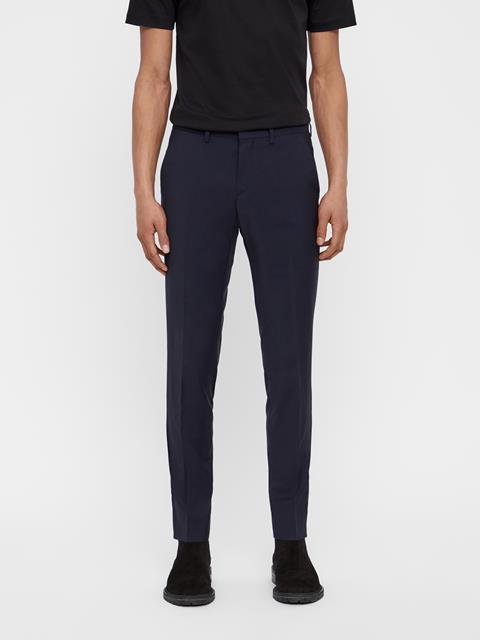 Mens Paulie Comfort Wool Tux Pants Navy