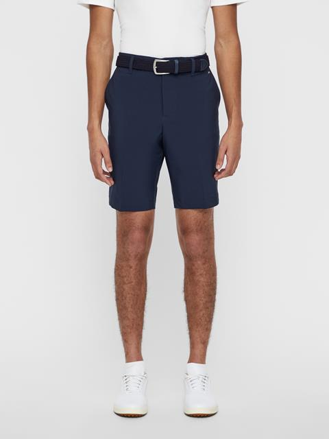 Mens Eloy Tapered Micro Stretch Shorts Black
