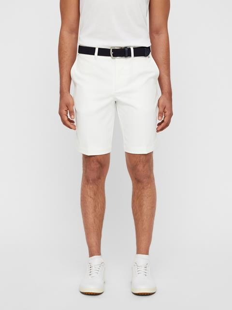 Mens Eloy Tapered Micro Stretch Shorts White