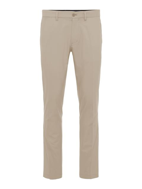 Mens Elof Slim Light Poly Pant Safari Beige