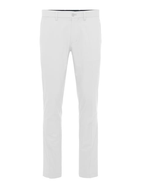 Mens Elof Slim Light Poly Pant White