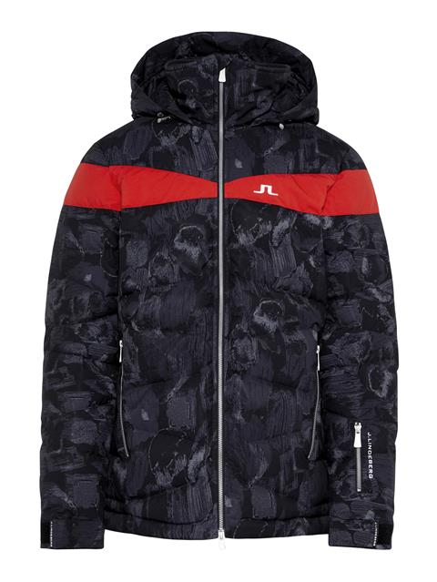 Mens Crillon 2-Ply Down Jacket Black Sports Camo