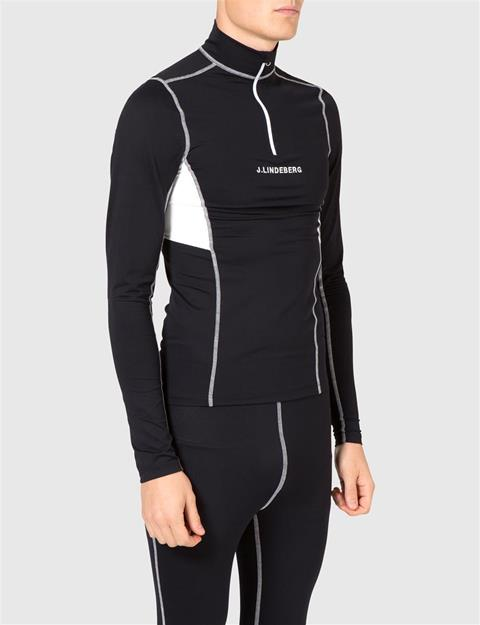 Mens Alaska Quick-Dry Base Layer Black