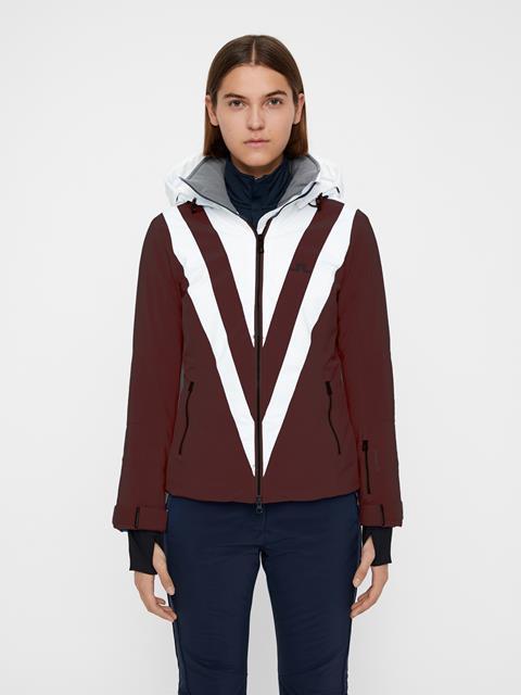 Womens Wrangell Dermizax EV Jacket Dark Mahogany