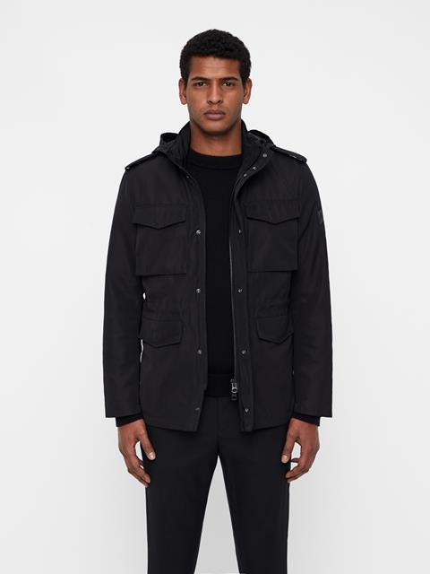 Mens Willow Poly Canvas Black