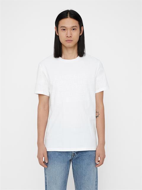 Mens Bridge Tee Graphic Cotton White