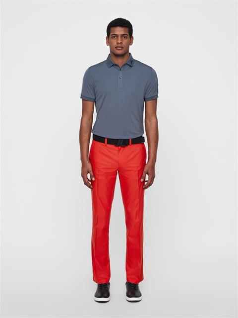 Mens Elof Reg Light Poly Pant Deep Red