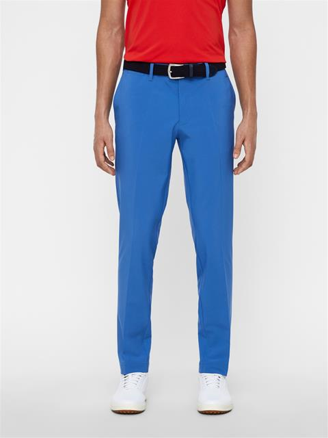Mens Ellott Slim Micro Stretch Pants Work Blue