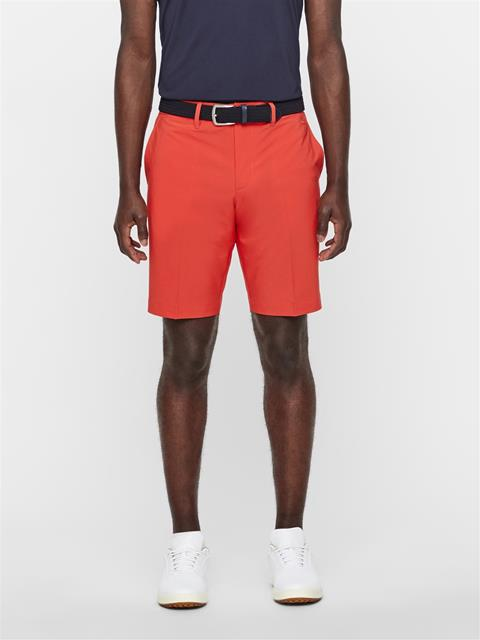 Mens Eloy Tapered Shorts Deep Red