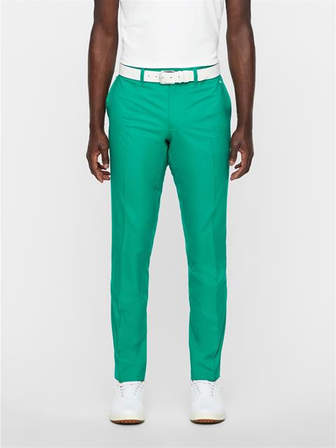 Mens Elof Slim Light Poly Pant Golf Green
