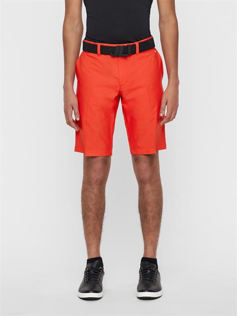 Mens Somle Tapered Shorts Deep Red