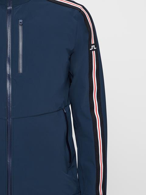 Mens Adapt Stripe Jacket JL Navy