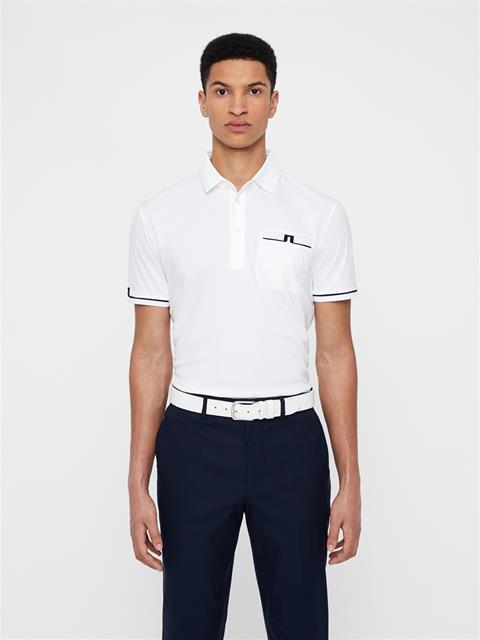 Mens Petr TX Jersey Polo White