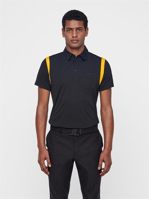 Mens Dolph TX Jersey Polo Black