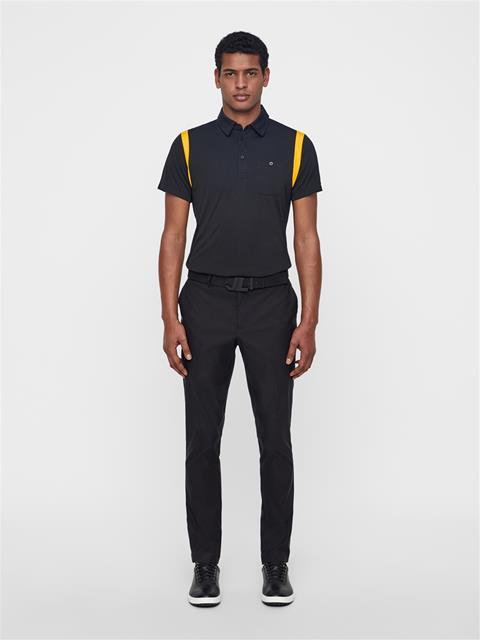 Mens Dolph TX Jersey Polo Black