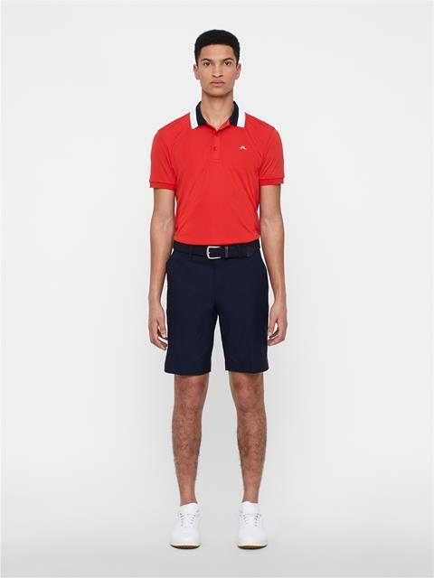 Mens Mat TX Jersey Polo Deep Red
