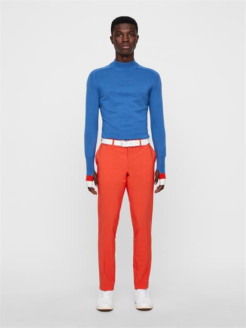 Mens Andy Wool Coolmax Sweater Work Blue