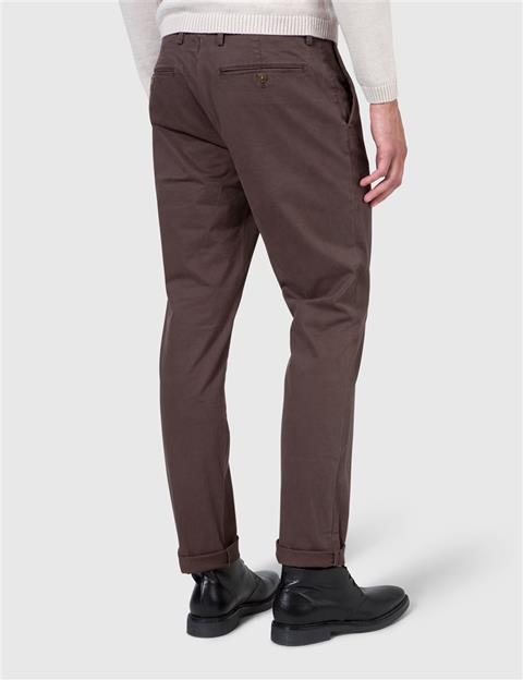 Mens Chaze Season Stretch Pants Dk Brown