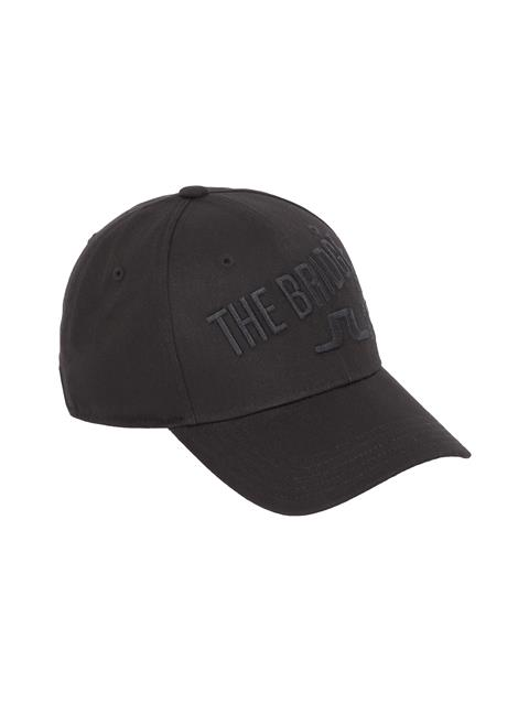 Mens Iconic Flexi Twill Cap Black