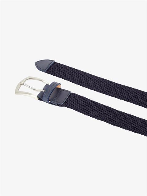 Mens Hatcher Elastic Triple Belt JL Navy