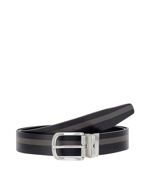 Mens Moriarty Crafted Leather Belt Black