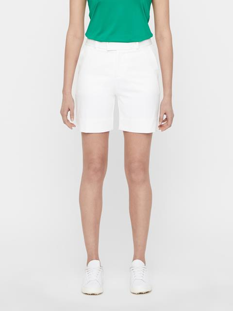 Womens Gilda Long Shorts White