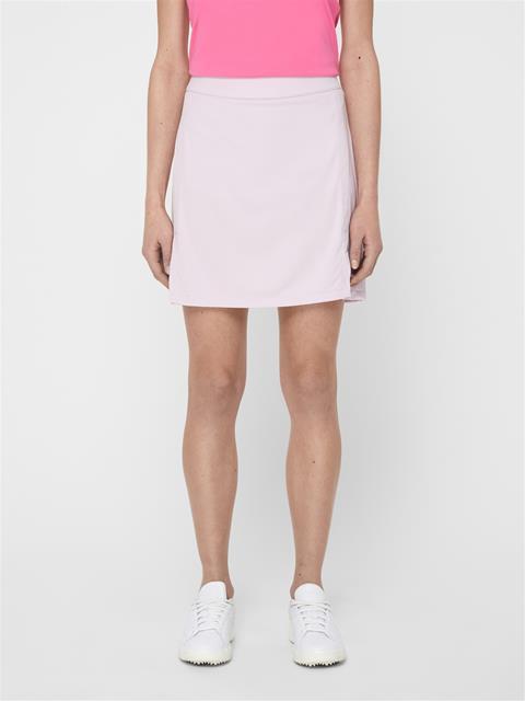 Womens Amelie Long TX Jersey Skirt Deep Rose