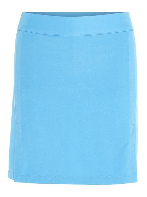Womens Amelie Long TX Jersey Skirt Ocean Blue