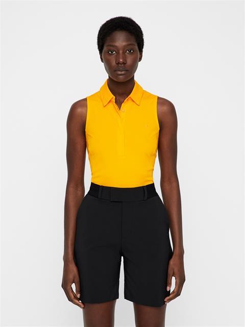 Womens Dena TX Jersey Polo Warm Orange