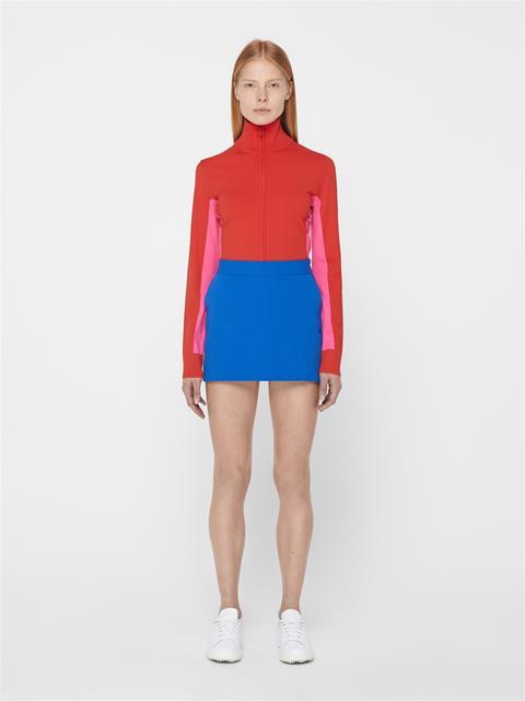 Womens Selena Sweater Deep Red