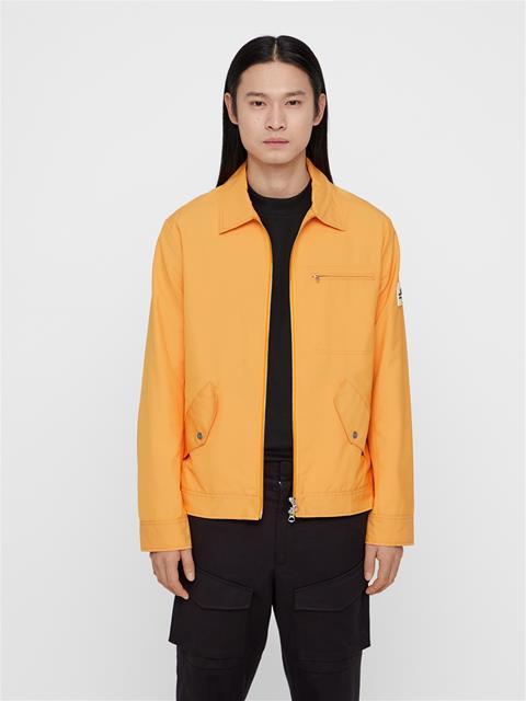 Mens Speed Oxford Jacket Warm Orange