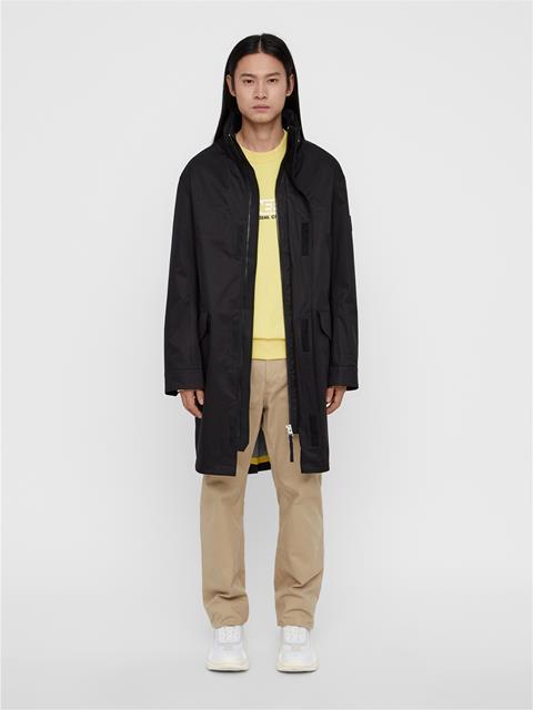 Mens Storm Tech Coat Black