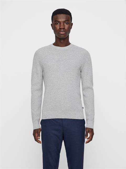 Mens Romulus Sweater Lt Grey Melange