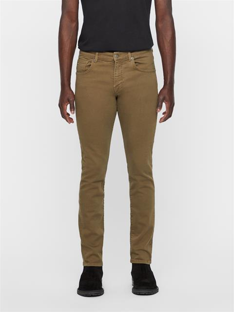 Mens Jay Solid Stretch Jeans Ivy Green
