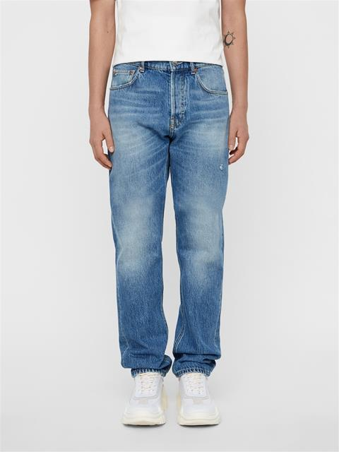 Mens Johnny Crape Jeans Mid Blue