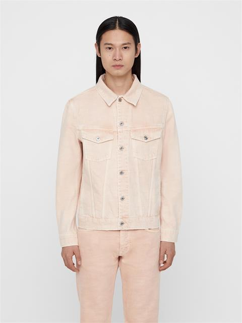 Mens Ran Jean Jacket Summer Beige