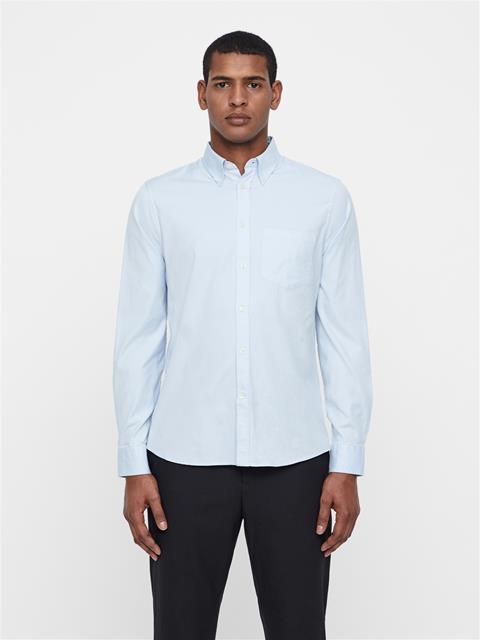 Mens Daniel Oxford Shirt Ice Flow