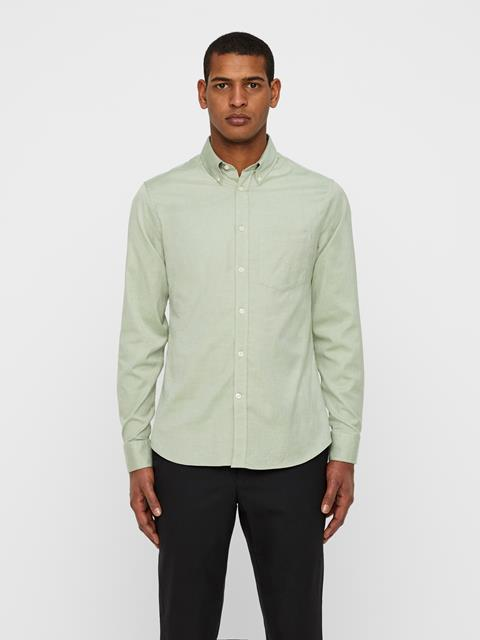 Mens Daniel Oxford Shirt Ivy Green