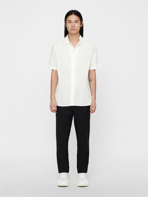 Mens David Resort Shirt Cloud Dancer