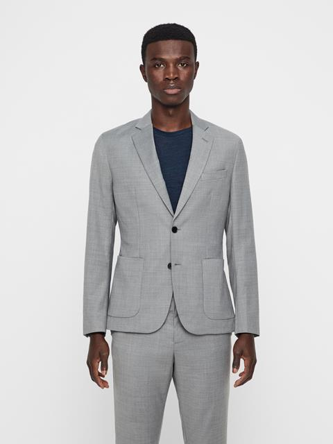 Mens Hopper Tech Travel Blazer GREY MELANGE