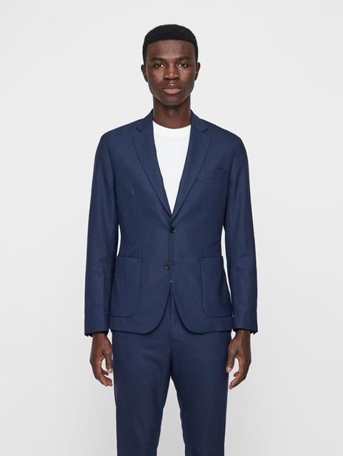 Mens Hopper Tech Travel Blazer JL NAVY