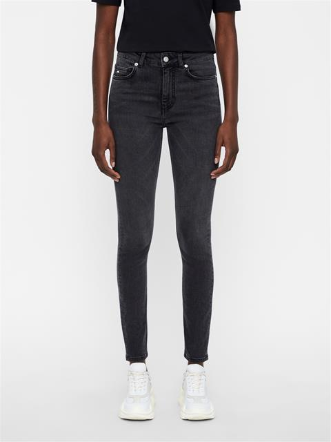 Womens Uma Street Jeans Dk Grey