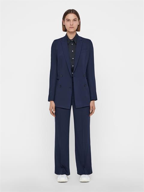 Womens Kori Summer Wool Pants JL Navy
