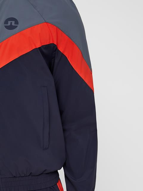 Mens Slick Retro Jacket JL Navy