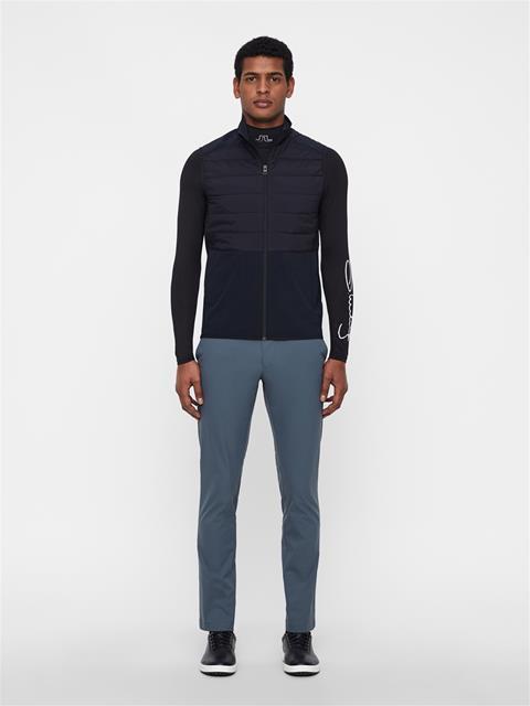 Mens Season Hybrid Vest Black