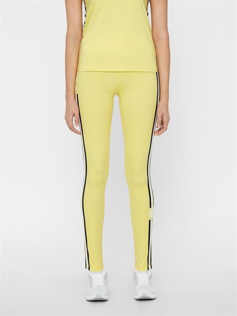 Womens Elaina Compression Leggings Butter Yellow